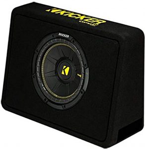 Kicker 10 inch Subwoofer for Single Cab Truck