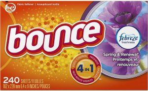 Bounce Fabric Dryer Sheets for Baby