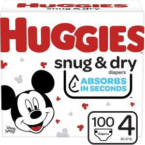 Huggies Baby Diapers for Crawlers