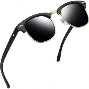 Joopin Semi Rimless Polarized Sunglasses