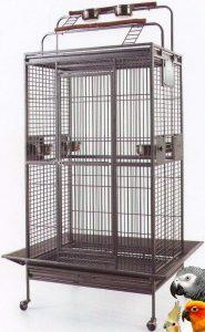 Mcage Large Wrought Iron Birdcage