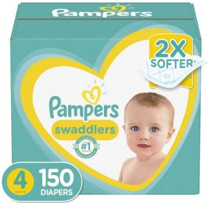 Pampers Swaddlers Diapers for Crawlers