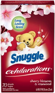 Snuggle Exhilarations Fabric Dryer Sheets