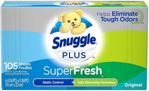 Snuggle Plus Super Fresh Fabric Dryer Sheets