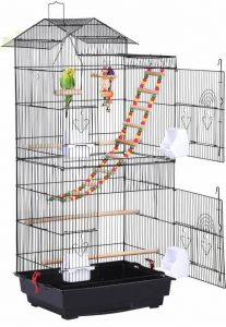 Yaheetech Rooftop large Conure Cage
