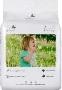 ECO BOOM Baby Bamboo Biodegradable Diapers