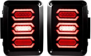 Liteway Jeep Wrangler LED Tail Lights