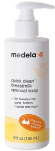 Medela Quick Clean Breastmilk Removal Soap