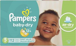 Pampers Diapers for Tummy Sleepers