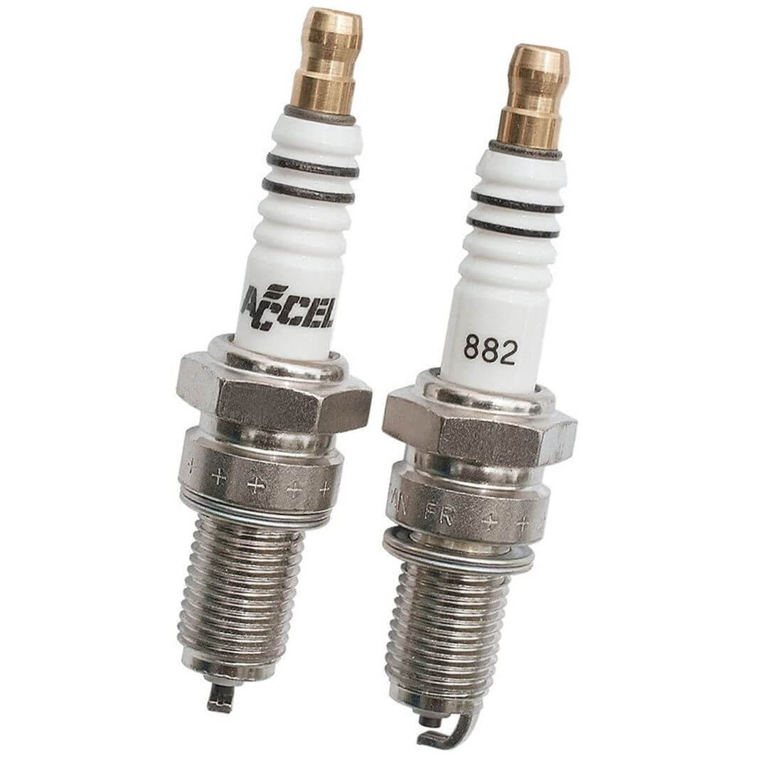 Accel 2418 Spark Plugs for Harley Davidson