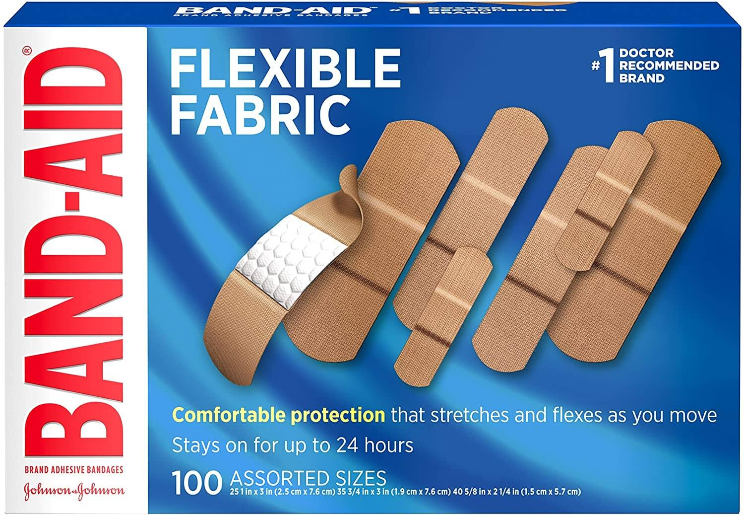 Band-Aid Bandages for Sensitive Skin