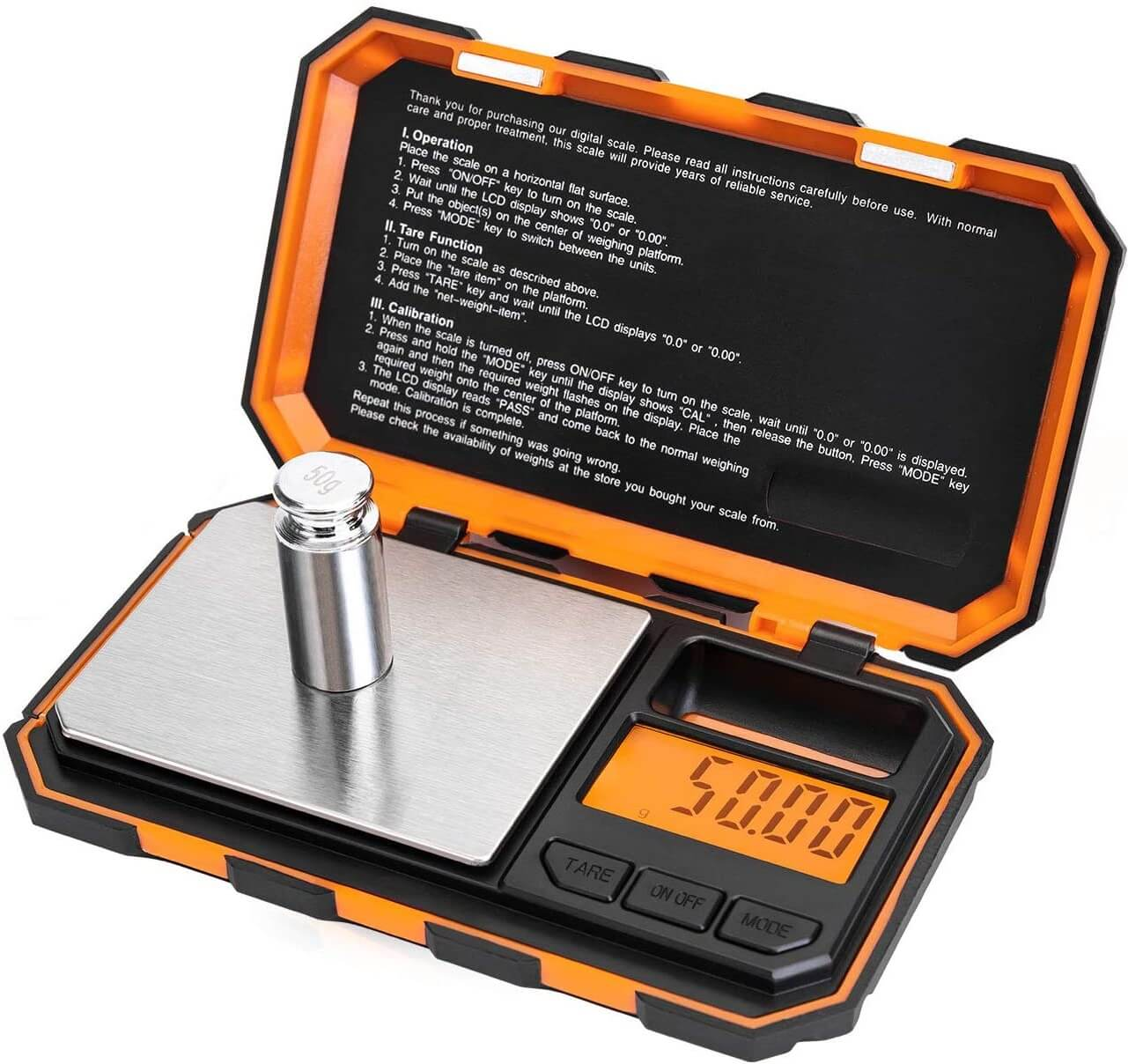 Fuzion Mechanical Powder Scale