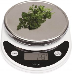 Ozeri Pronto Food Scale for Weight Watchers