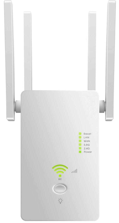 Sikeli AC1200 Router WiFi Range Extender