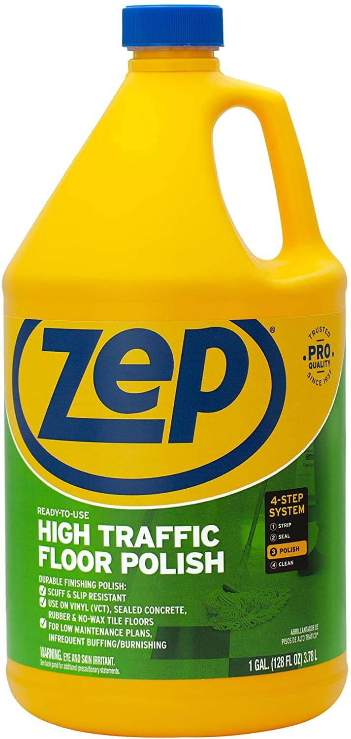 Zep High Traffic Floor Wax for VCT