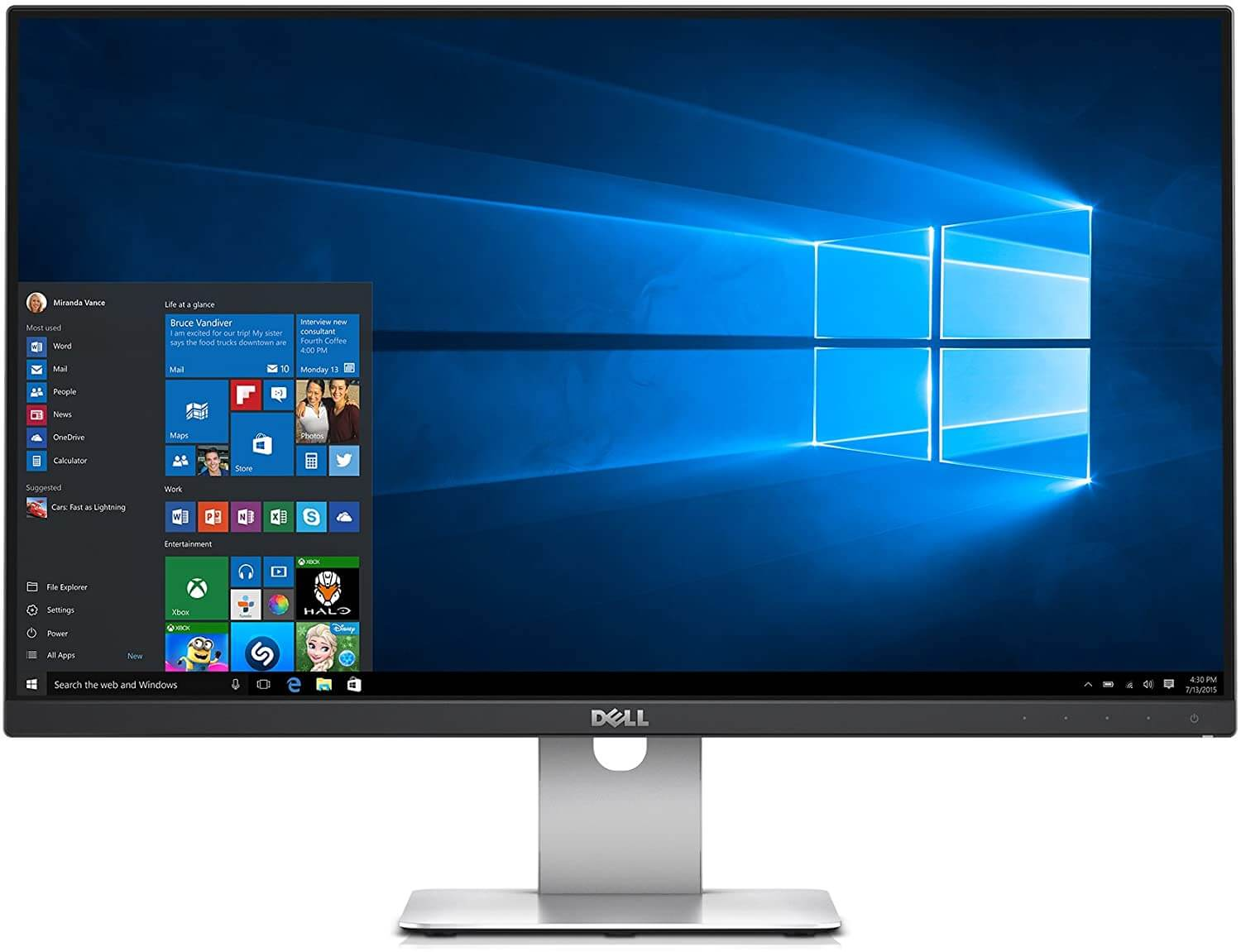 Dell Screen LED Glossy Monitor