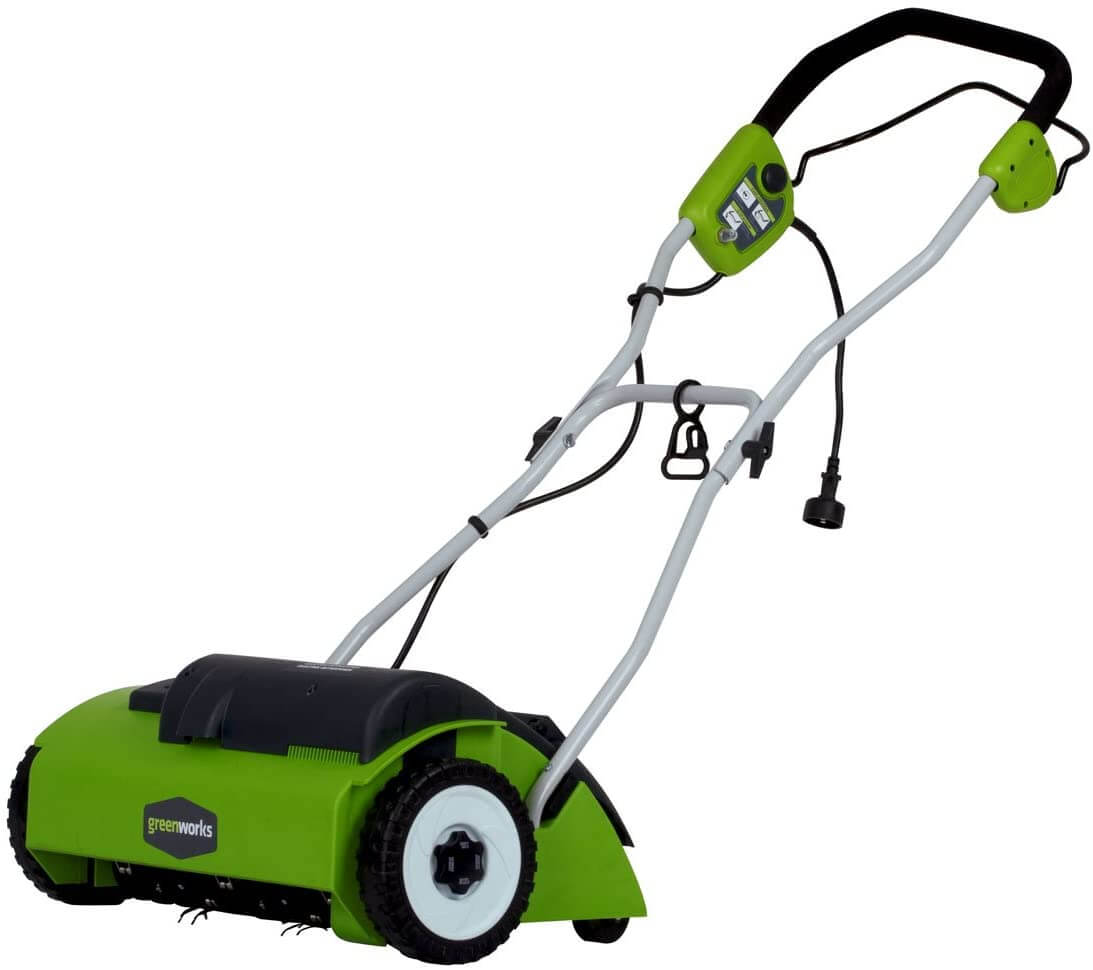 Greenworks 14 Inch Corded Dethatcher 27022