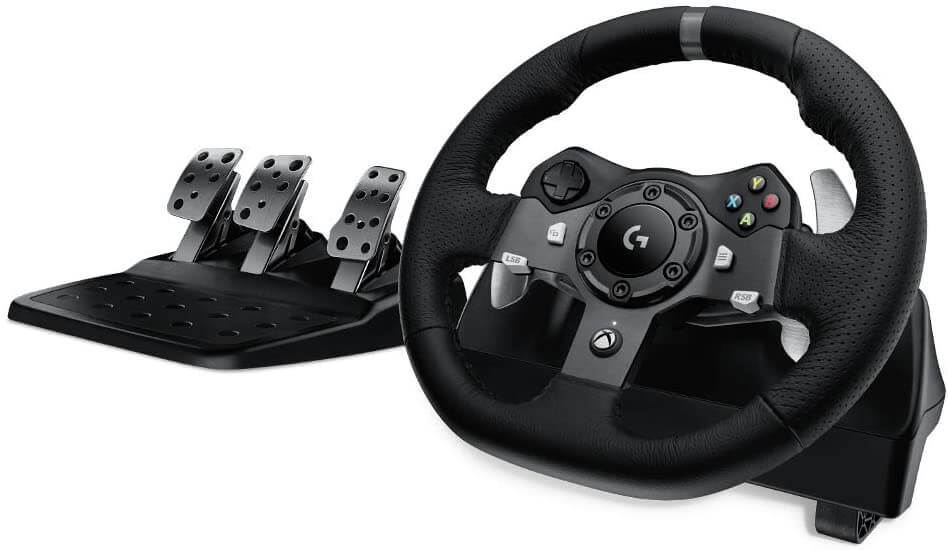 Logitech G920 Dual-Motor Racing Wheel