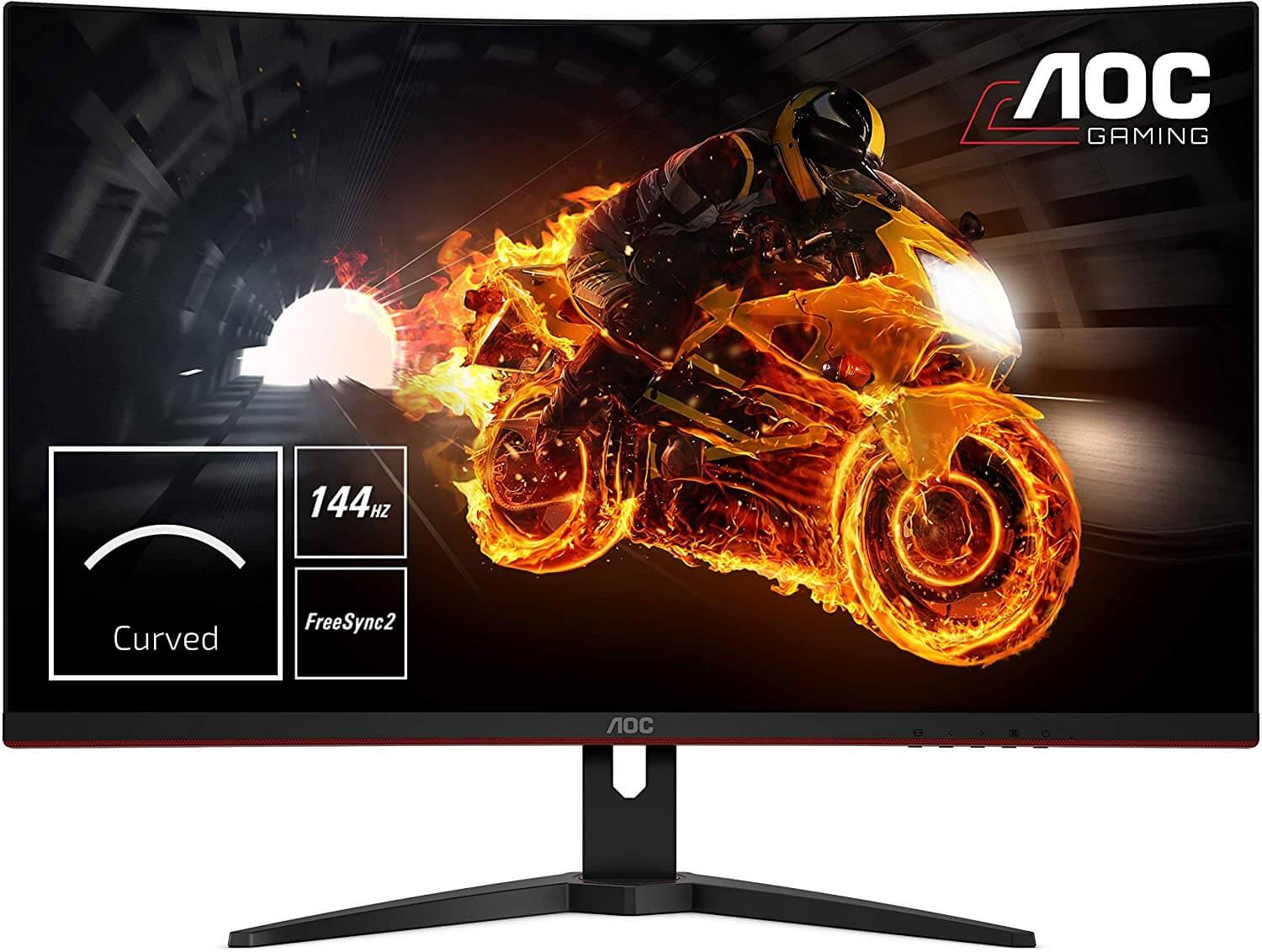 AOC Curved Monitor for Sim Racing