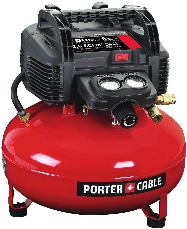 Porter Cable Air Compressor for HVLP