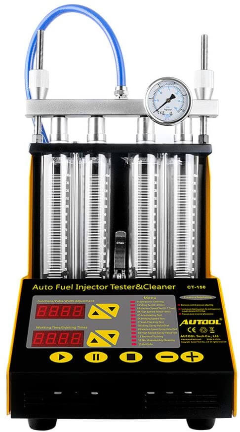 AUTOOL Fuel Injector Cleaner Machine