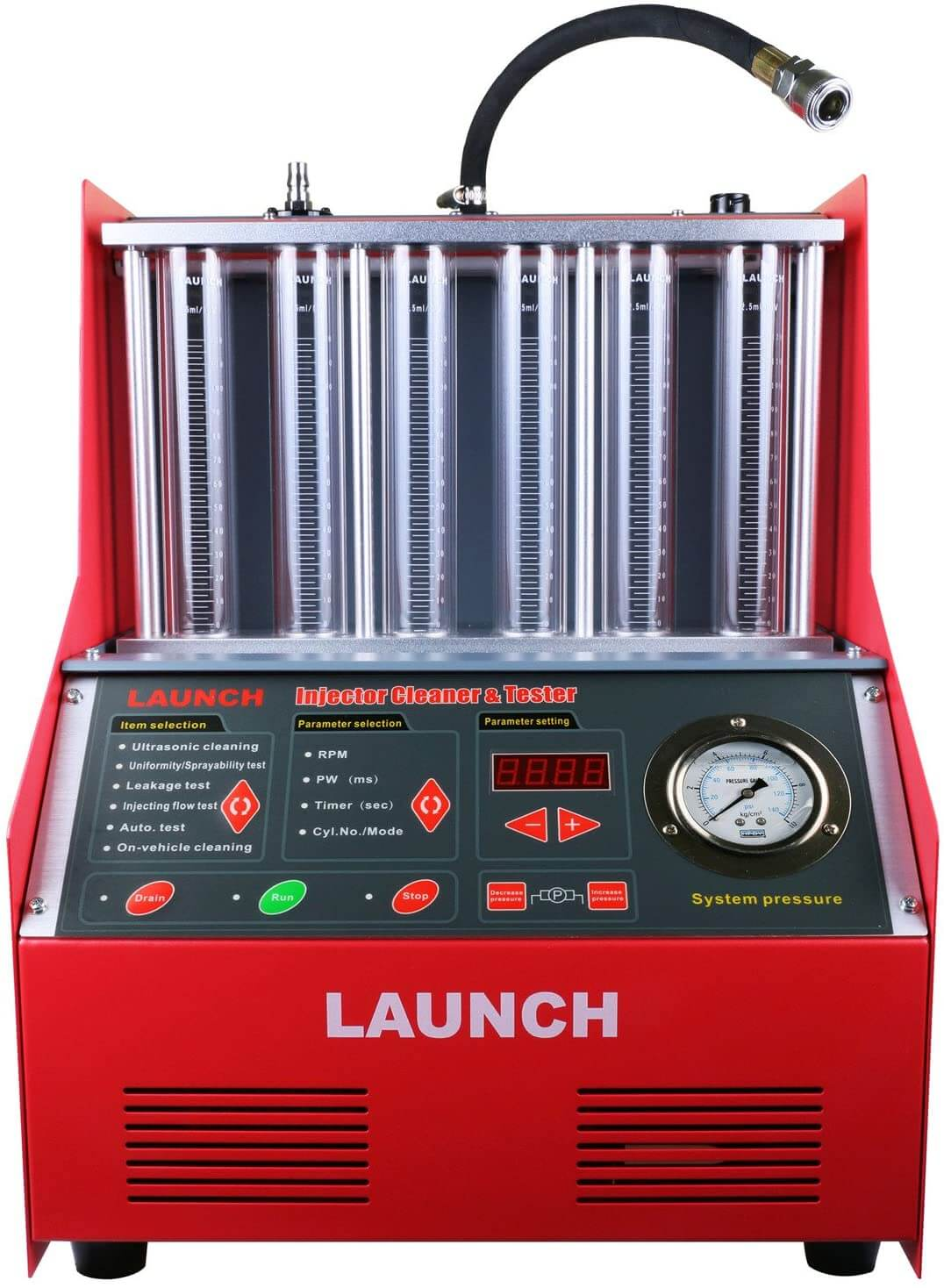 LAUNCH Fuel Injector Cleaner Machine