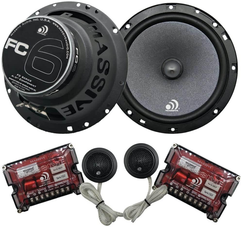 Massive Audio Car Speaker System