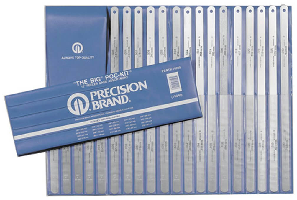 Precision Brand Steel Feeler Gauge