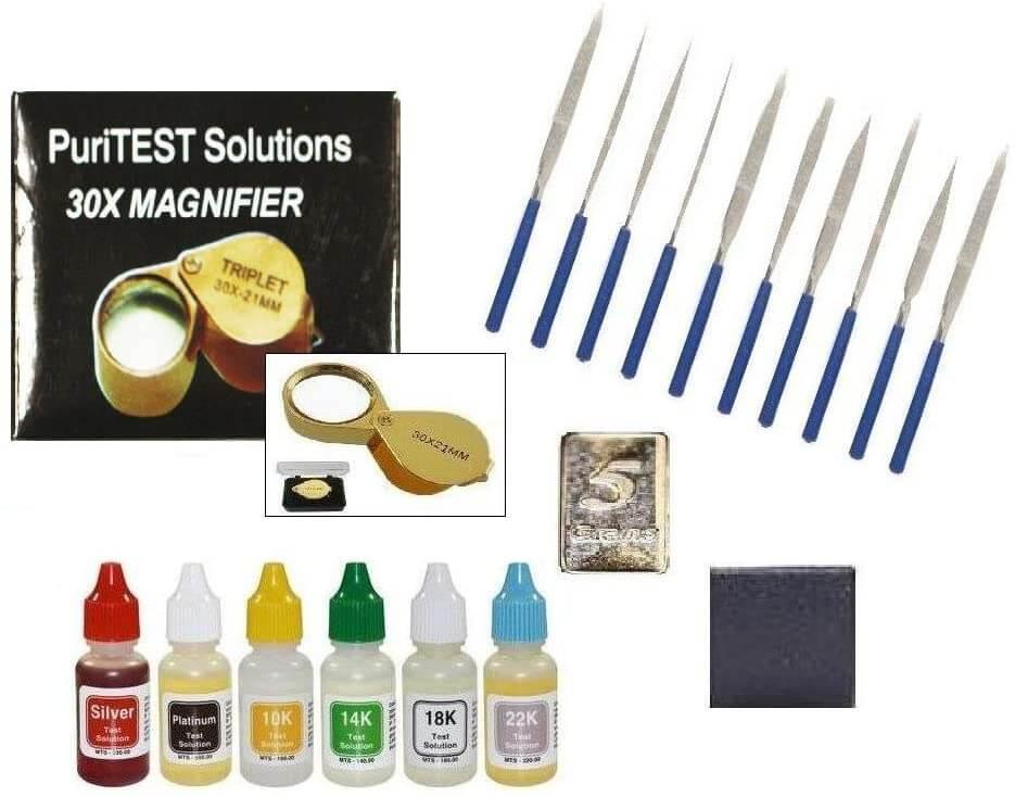 PuriTest Gold Test Bar