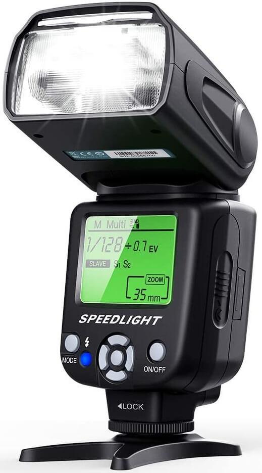 ESDDI Flash for Canon T6I