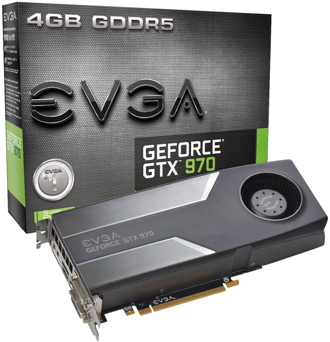 EVGA GTX 970 Graphics Card