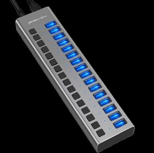 Acasis Powered USB Hub