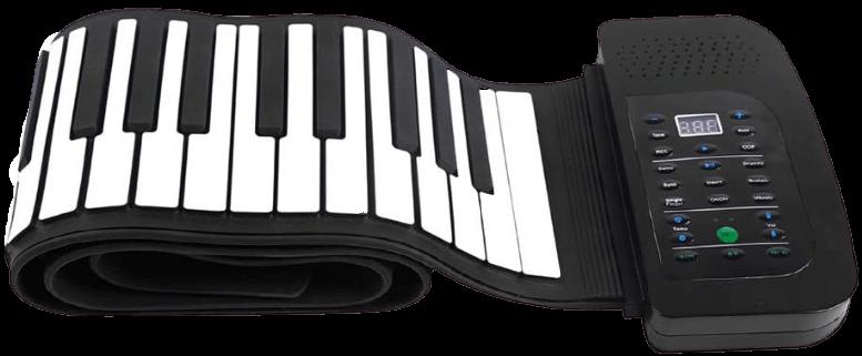 Andoer 88 Keys Roll Up Piano