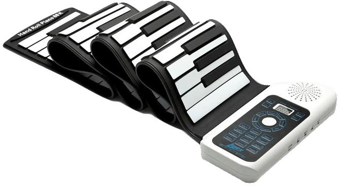 LUJEX 88 Keys Portable Roll Up Piano