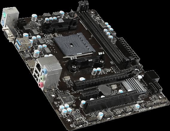 MSI AMD FM2 Motherboard