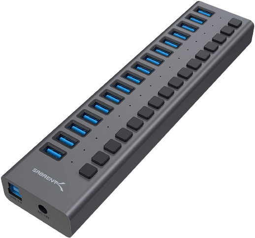 Sabrent 16 Port USB 3.0 Data HUB
