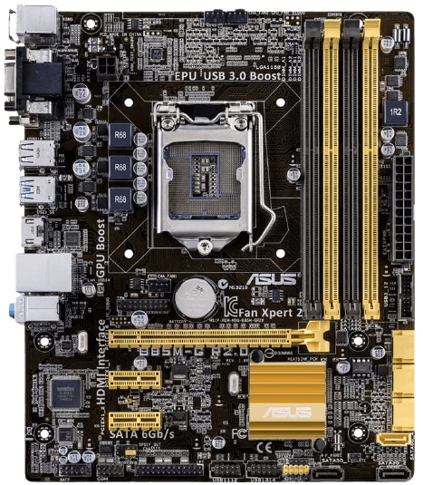 ASUS Micro ATX Motherboard for i5 4690k