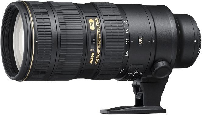 Nikon 70mm to 200mm Lens for D810