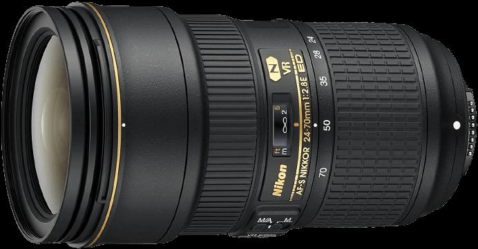 Nikon NIKKOR 24mm to 70mm Lens