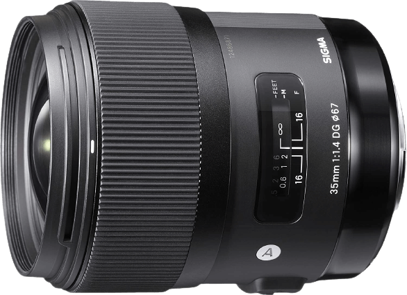 Sigma 35mm Lens for D810