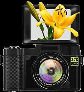 SUNLEO Vlogging Camera