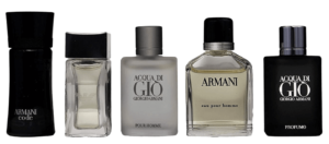 Armani Perfume 5 Piece Set For Boyfriend