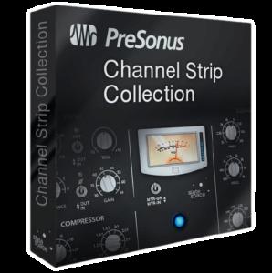 Channel Strip Collection plugin By preSONUS
