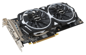 MSI VGA AMD Radeon RX 580