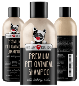 Pets Are Kids Too Premium Oatmeal Shampoo