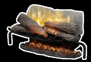 DIMPLEX Plug-In Electric Fireplace Log