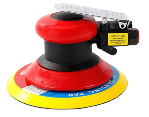 Pneumatic Palm Sander for Removing Paint