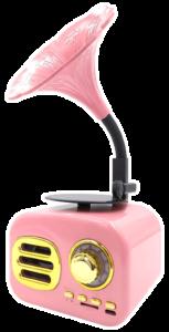 Portable Style Vintage Bluetooth Speaker