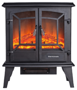 Thermomate Electric Fireplace Log