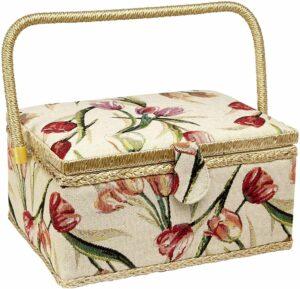 Adolfo Design Sewing Basket